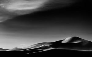 Sand Storm at Big Dune