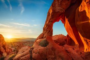 Sunrise on Elephant Rock